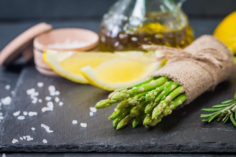 Gli asparagi nella dieta contro la ritenzione idrica