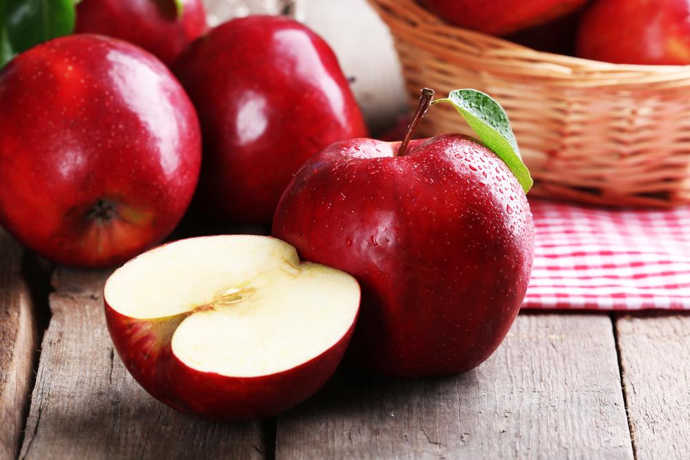 La mela combatte la ritenzione idrica