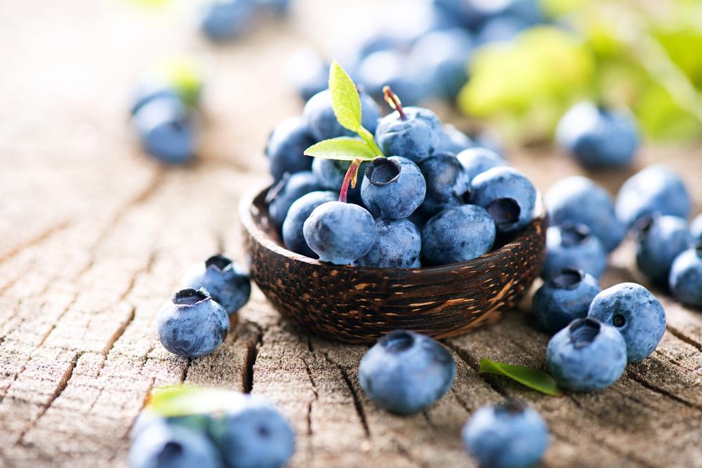 I mirtilli, ottimo rimedio nella dieta contro la ritenzione idrica