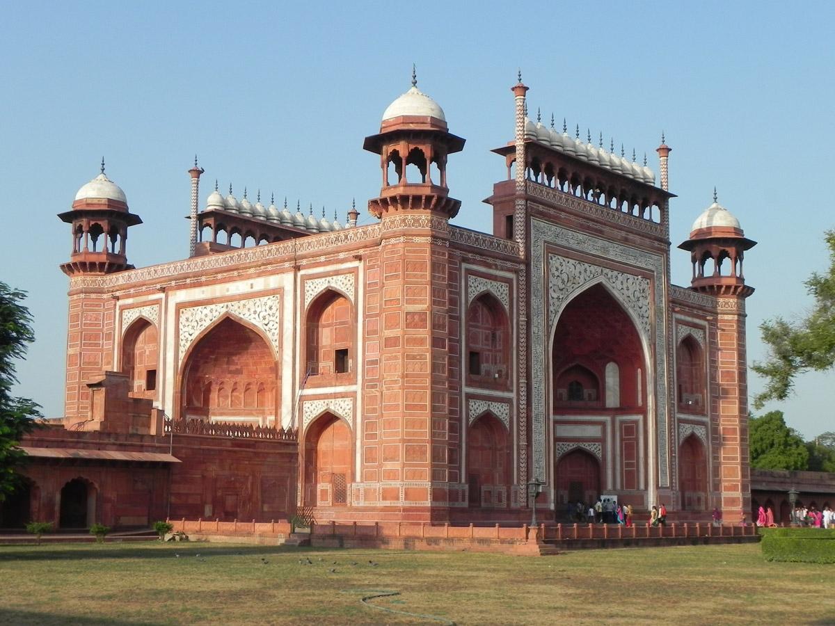 Taj Mahal, il palazzo-tomba di Agra, in India