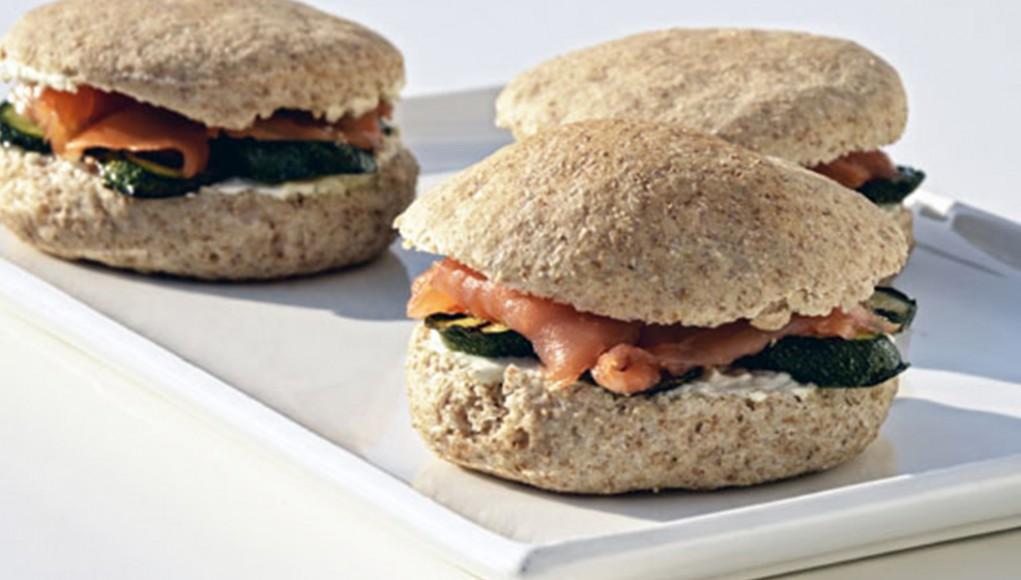 Panino al salmone per arricchire la tua dieta con il potassio