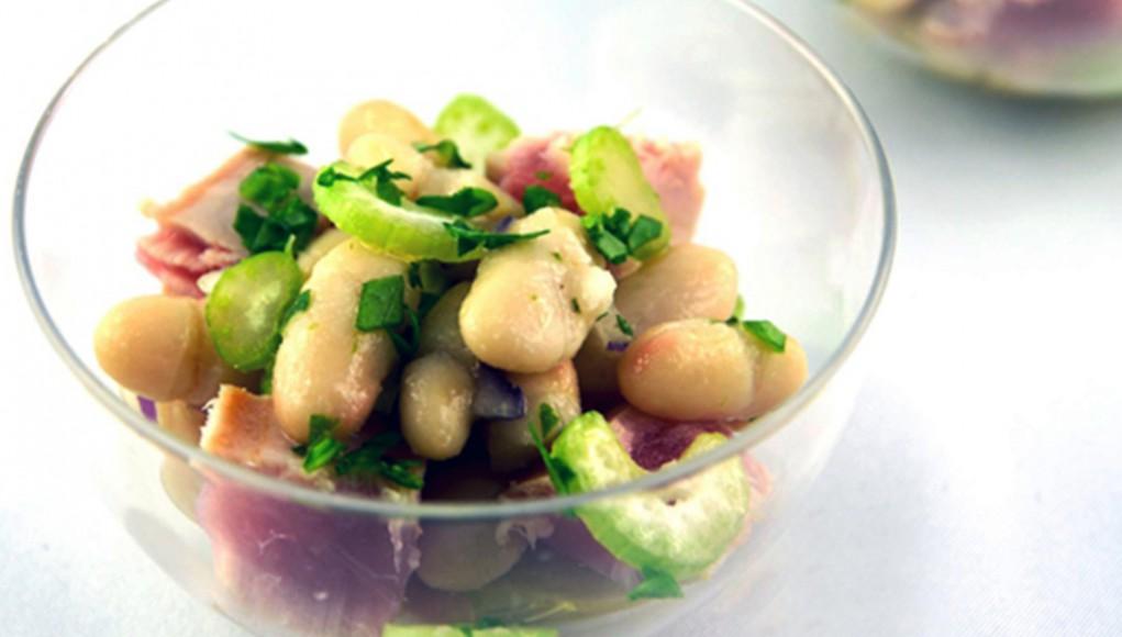 L'insalata di tonno e cannellini per la tua dieta ricca di potassio