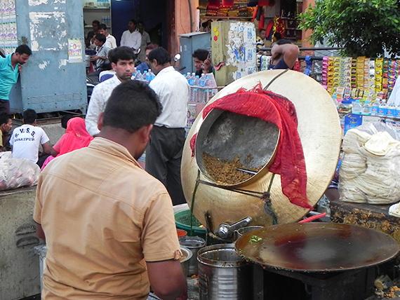 Cibo di strada in India