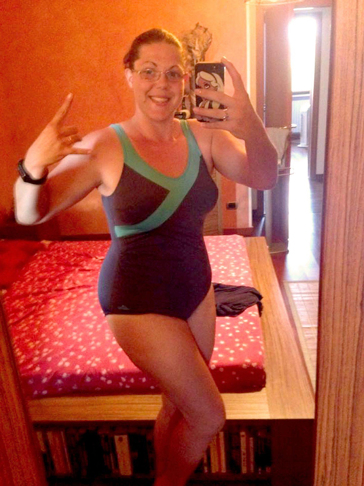 Erika ha perso 12 chili con la dieta Melarossa