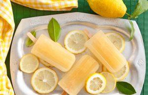 Ricetta ghiaccioli limone fai da te