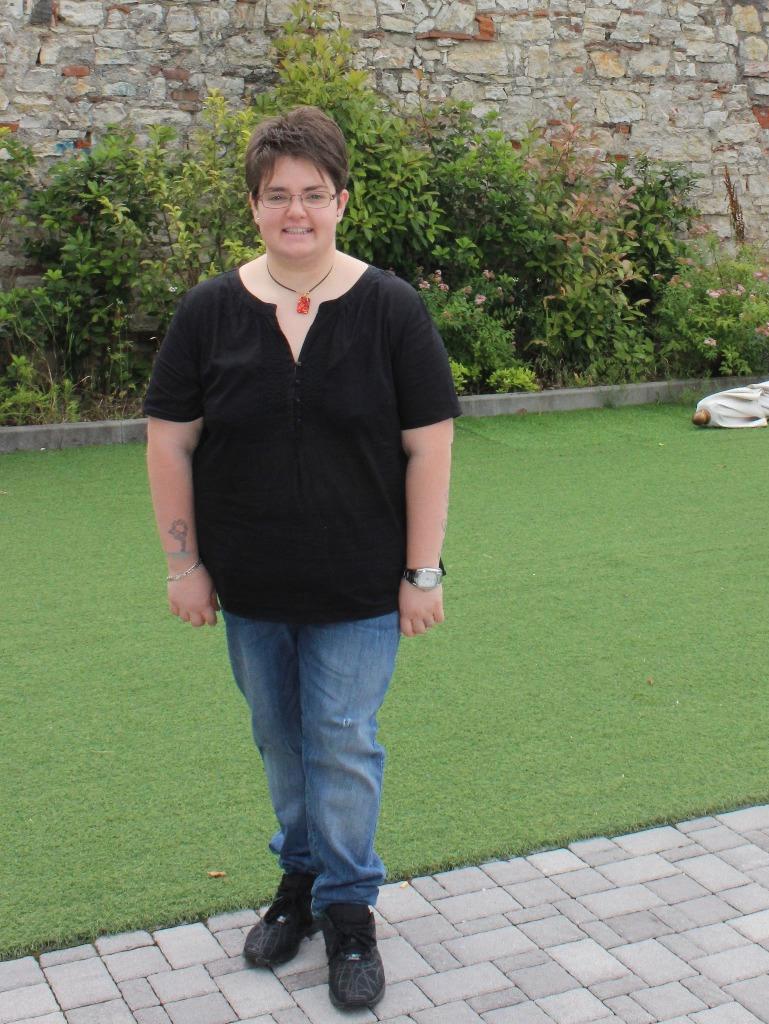 Kati con - 22 kg dopo la dieta melarossa