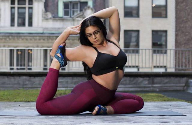 Modelle curvy anche nike le sceglie per la sua nuova campagna pubbliciitaria