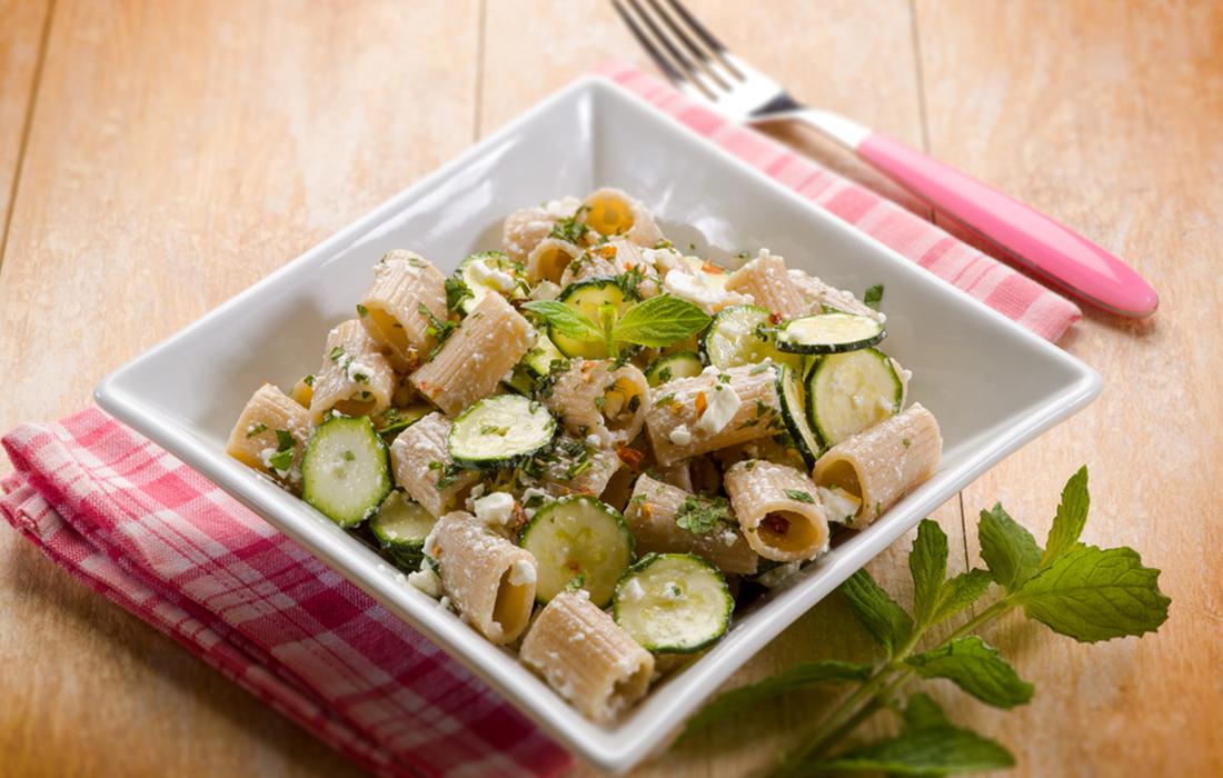 La ricetta della pasta alla ricotta con zucchine