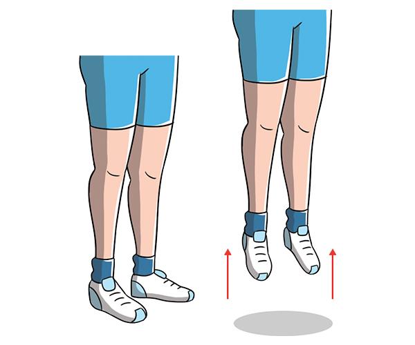 fesses fermes avec exercice de poussée
