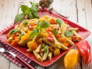 La ricetta dell'insalata di pasta di kamut con tonno e peperoni