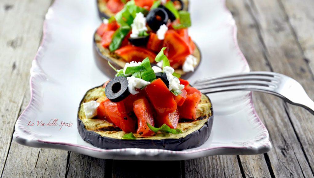 Ricetta della bruschetta di melanzane