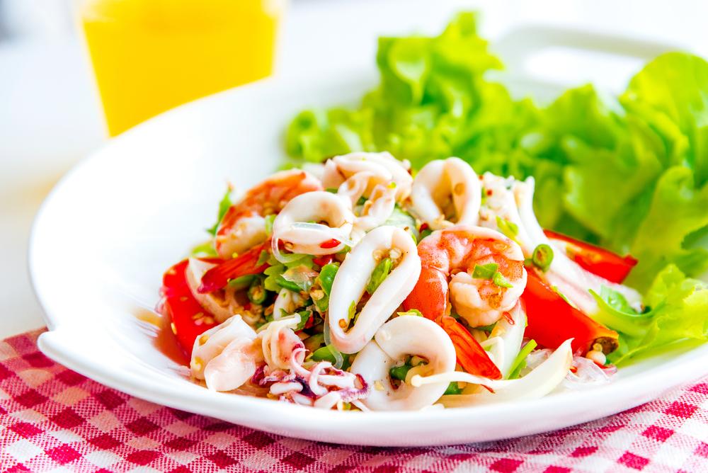 insalata seppie e peperoni