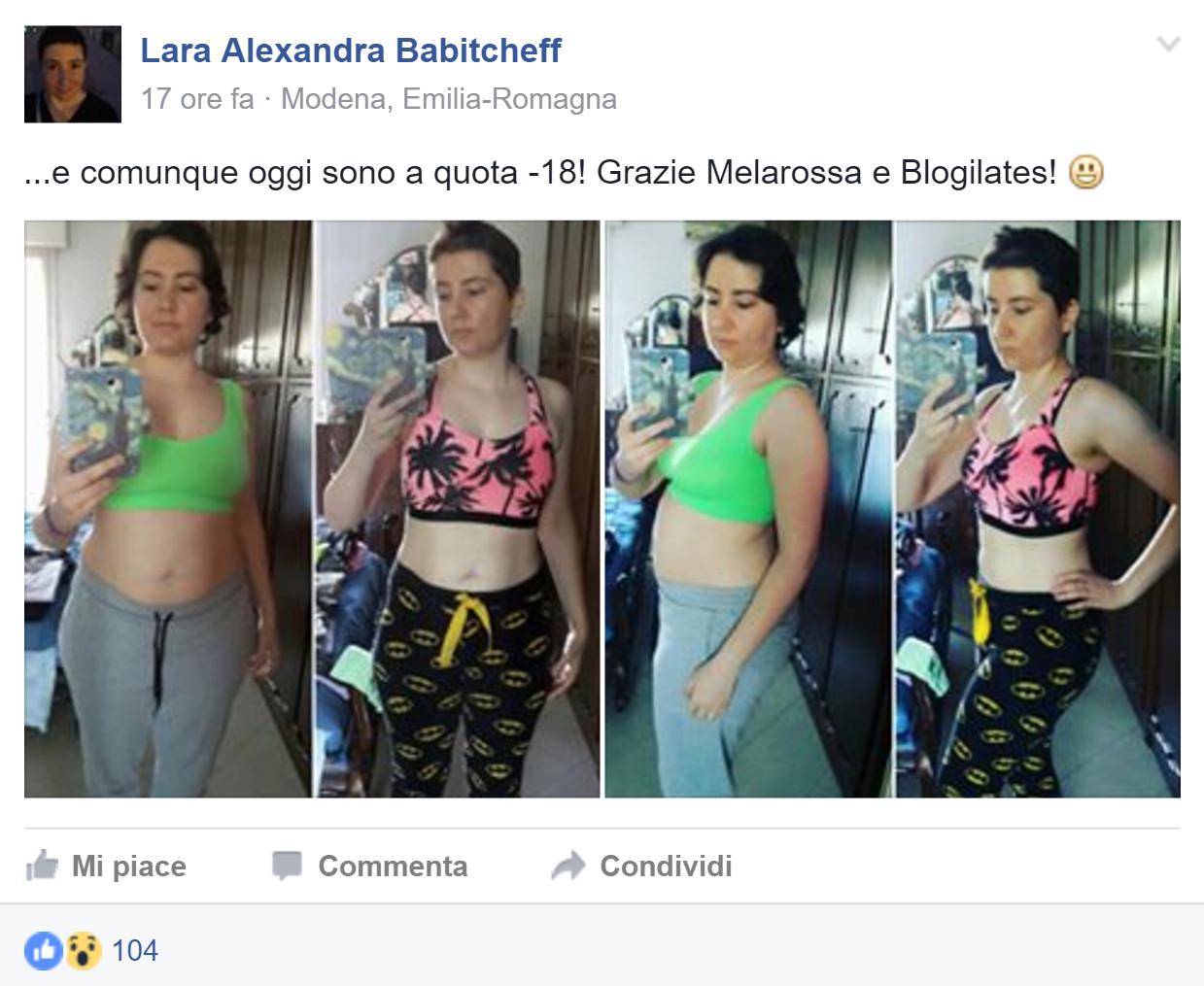 Lara Alexandra e i suoi successi con Melarossa