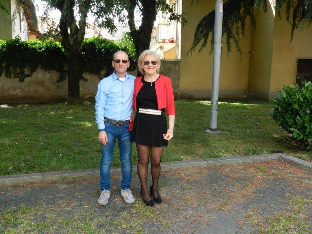Marzia e il marito dopo la dieta Melarossa