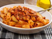 penne integrali con i calamari