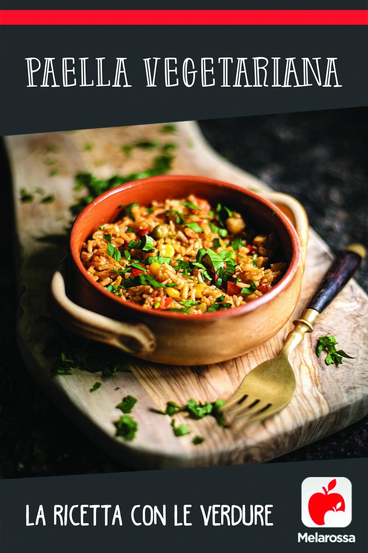 ricetta paella vegetariana