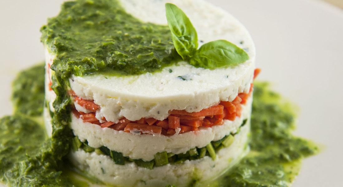 Ricetta tartare di ricotta e verdure