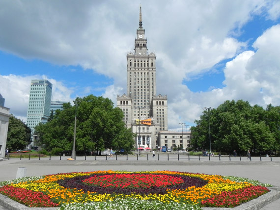Varsavia, il Palazzo della Cultura