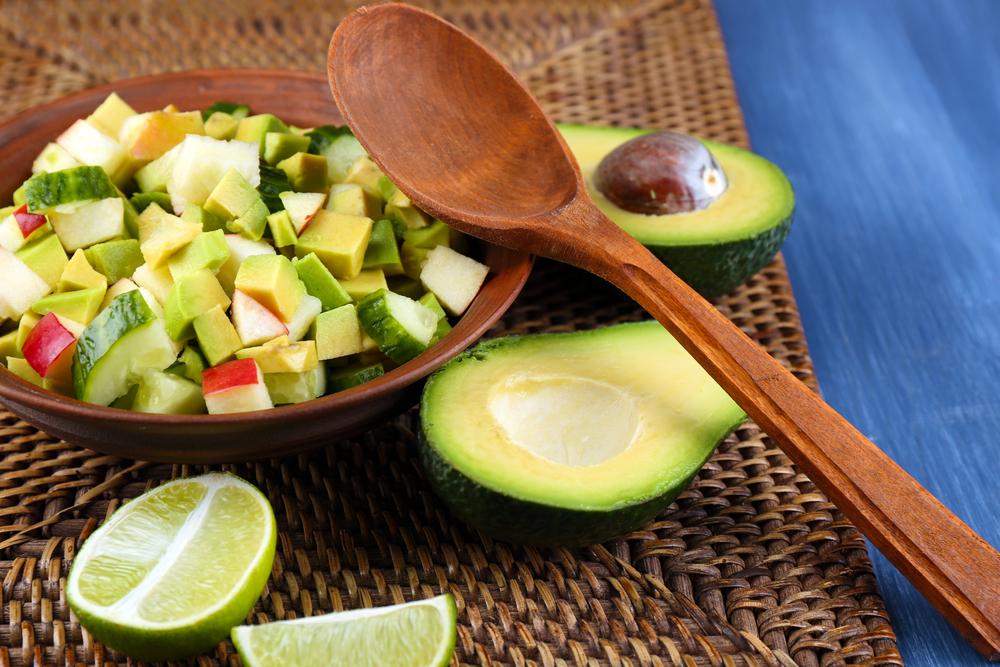 avocado, ricco di acido folico