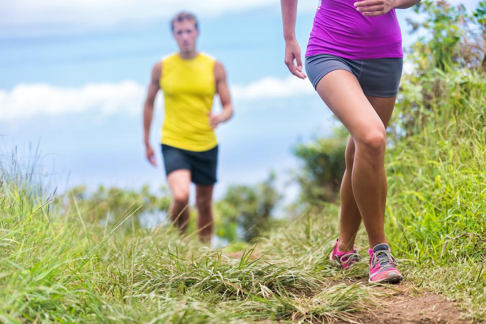 alternare salite e discesa per dimagrire camminando