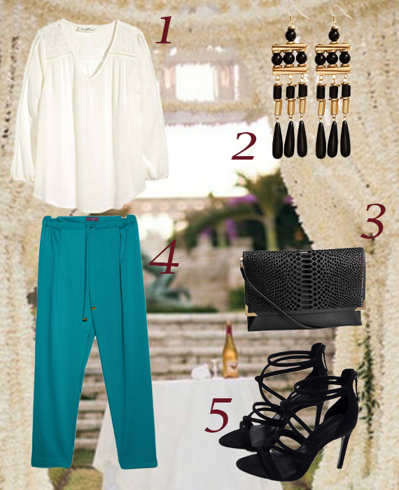 Feste a tema: proposta per un look tradizionale