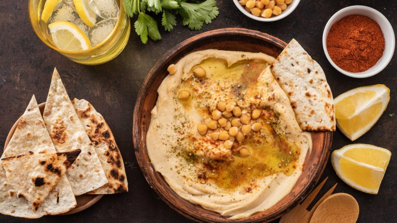 Ricetta Hummus Farina Di Ceci.Hummus Di Ceci Fatto In Casa Ricette Melarossa