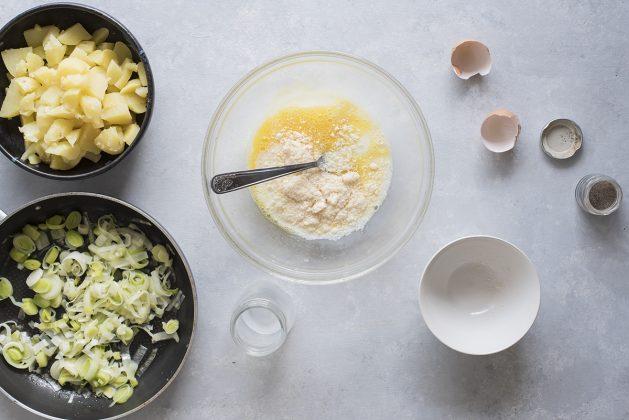Sbatti uovo e parmigiano per questa ricetta di cucina francese