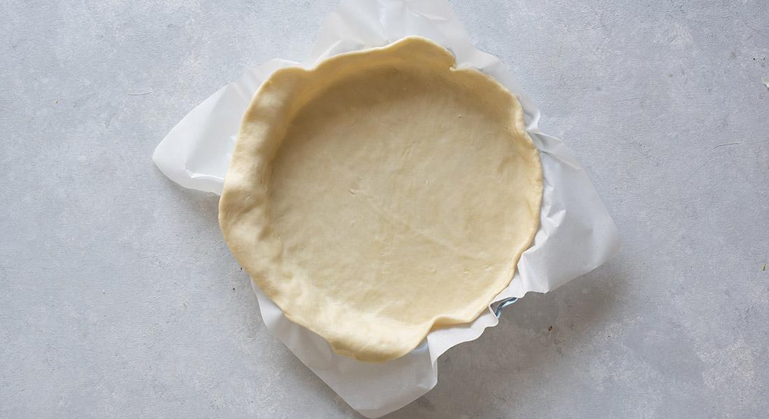 La ricetta della pasta brisè light senza burro