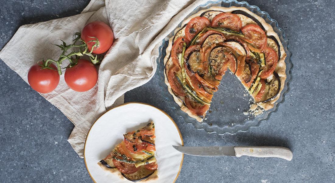 La ricetta della torta salata con verdure