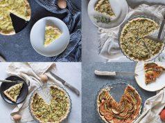 Torta salata, la base light e 4 farciture