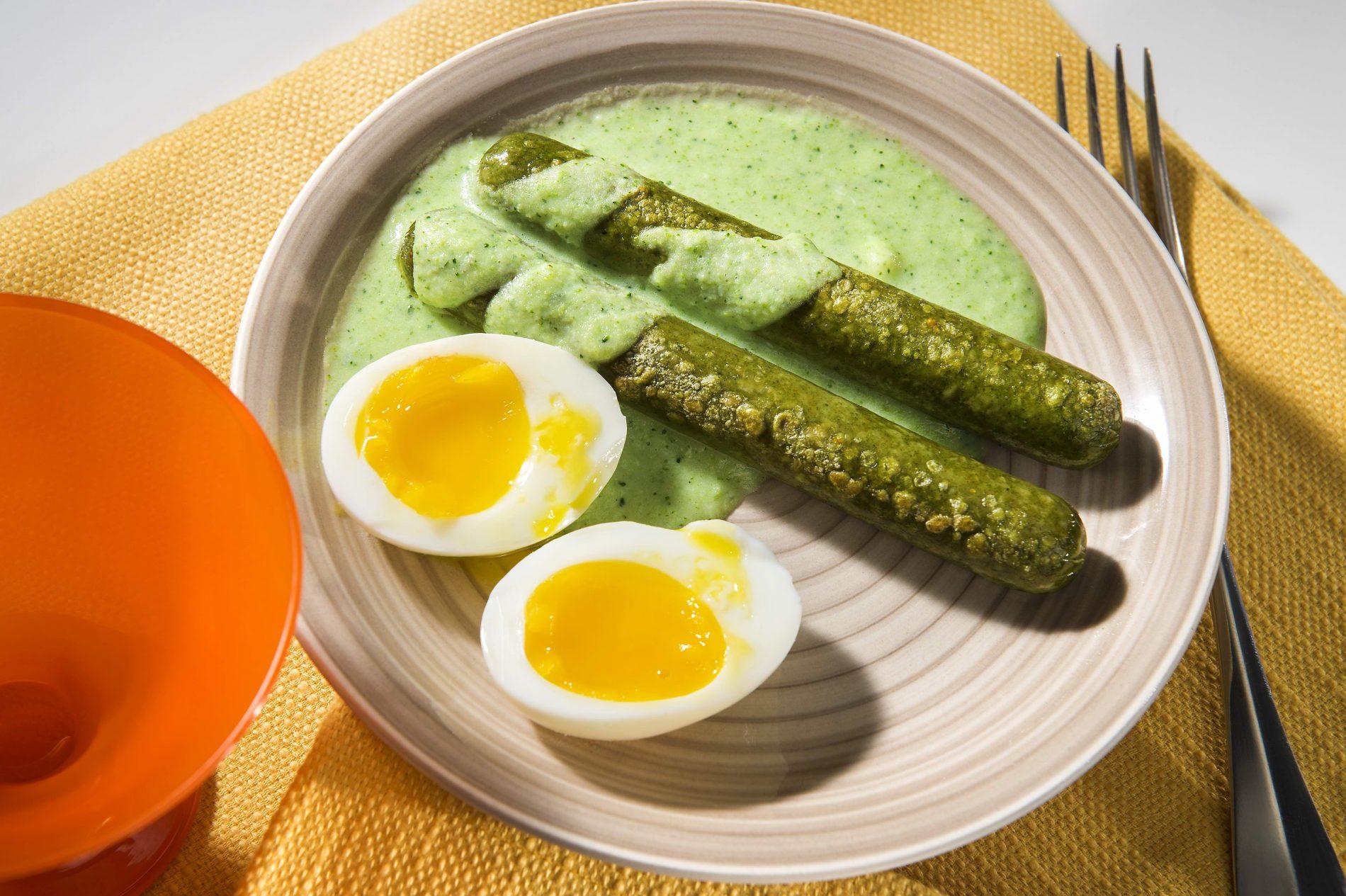 Ospiti vegetariani a cena: ricetta con wurstel di verdure