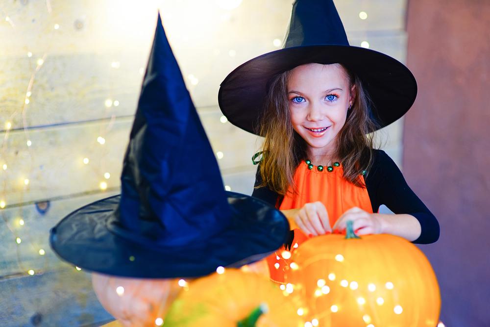 Cappello da strega perfetto per Halloween - Melarossa 99a9789e951a