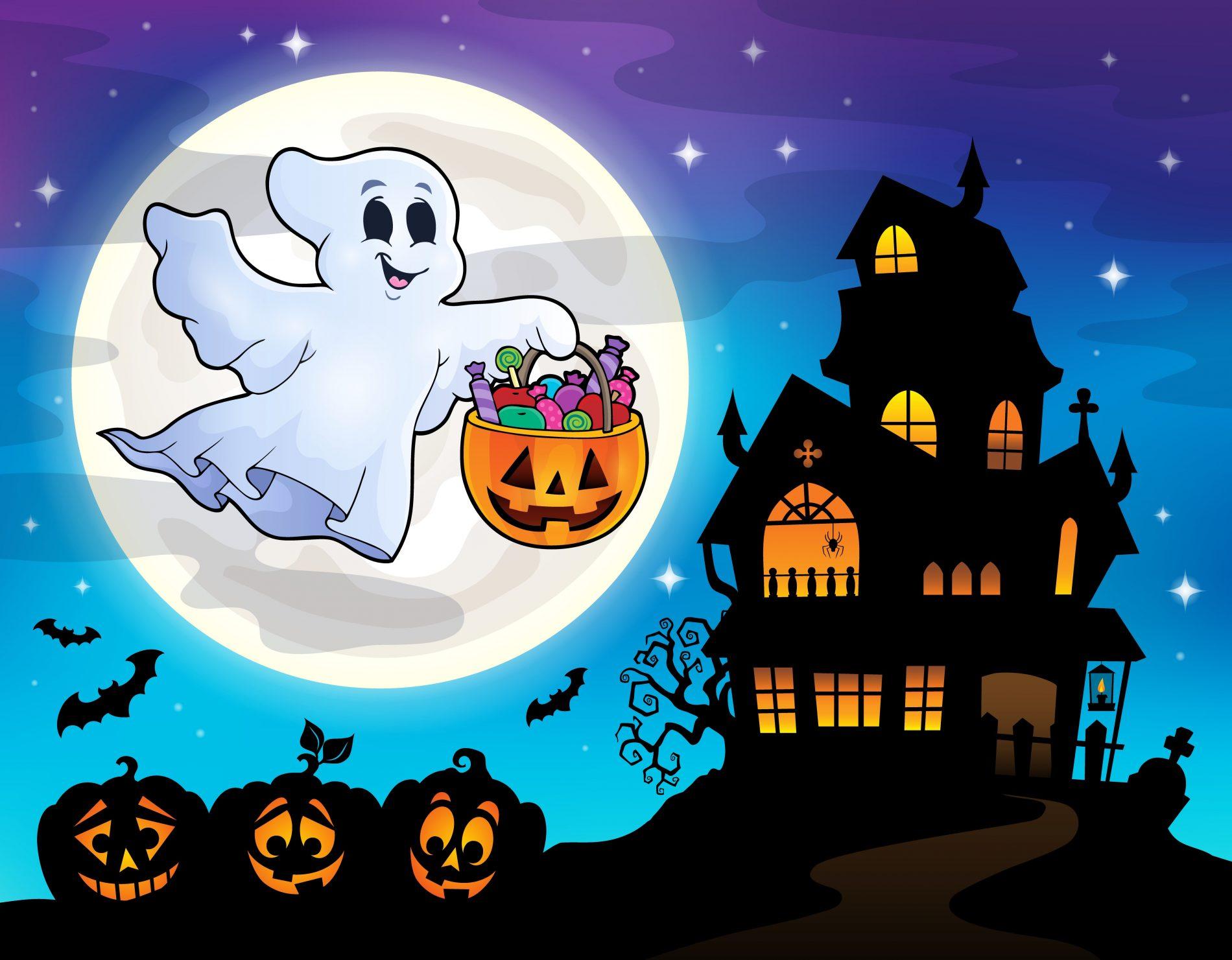 La casetta di halloween fai da te ecosostenibile melarossa