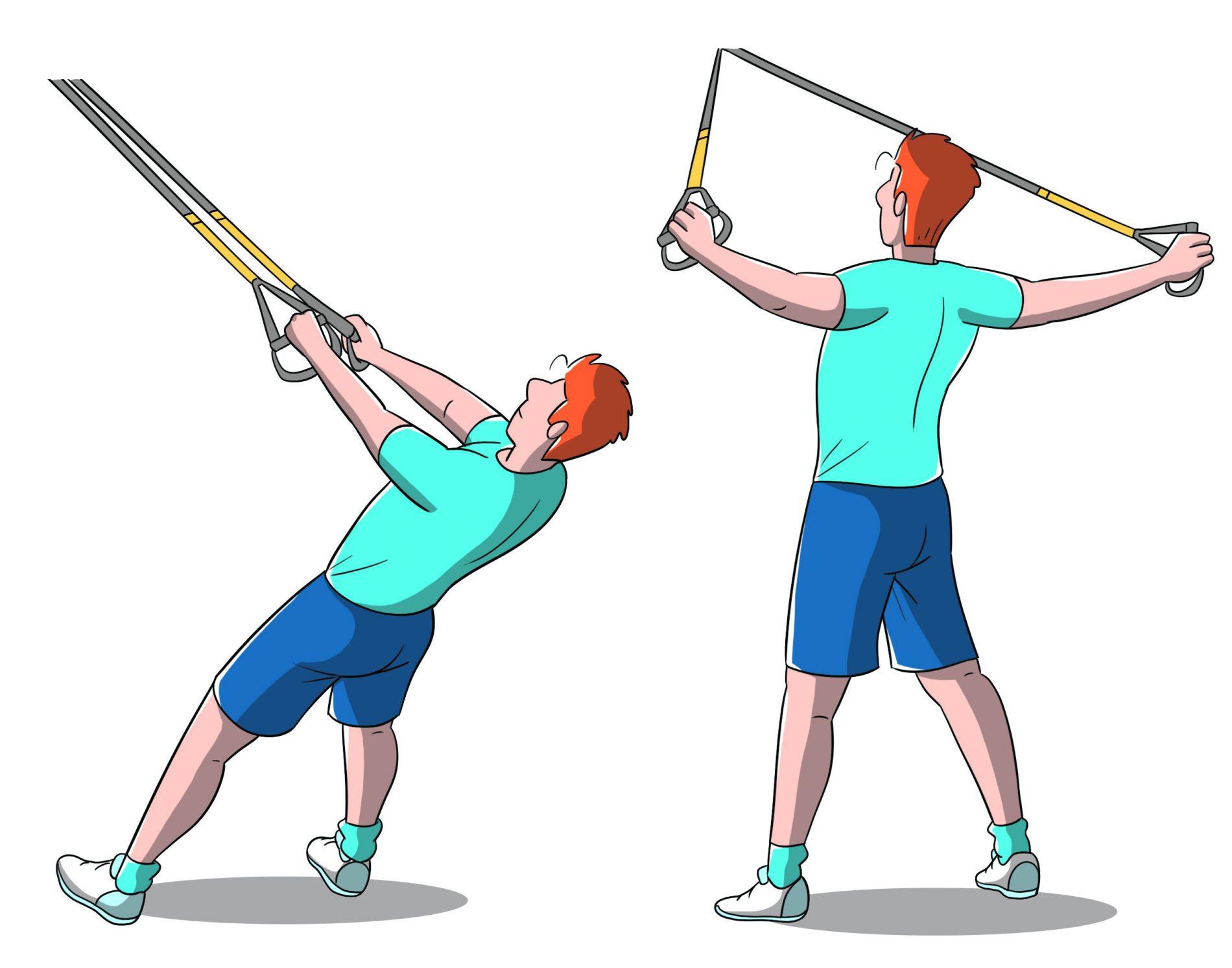 trx: allenamento braccia