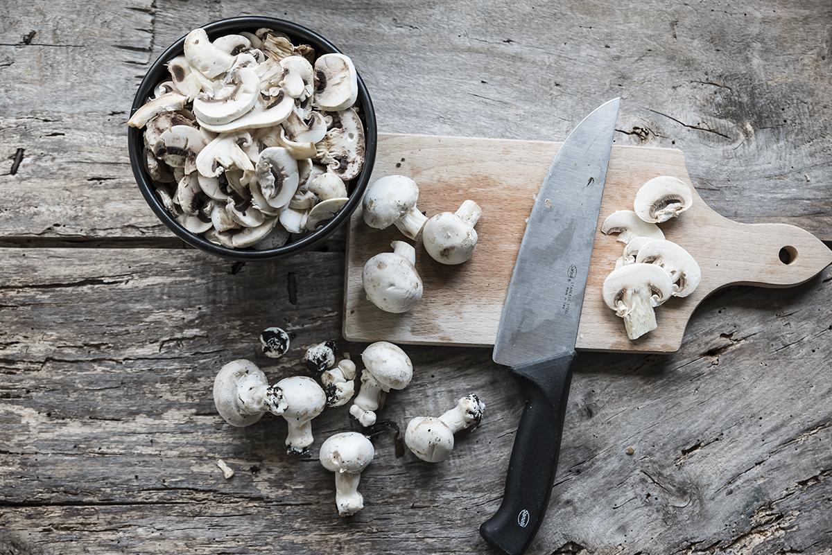 ingredienti risotto ai funghi