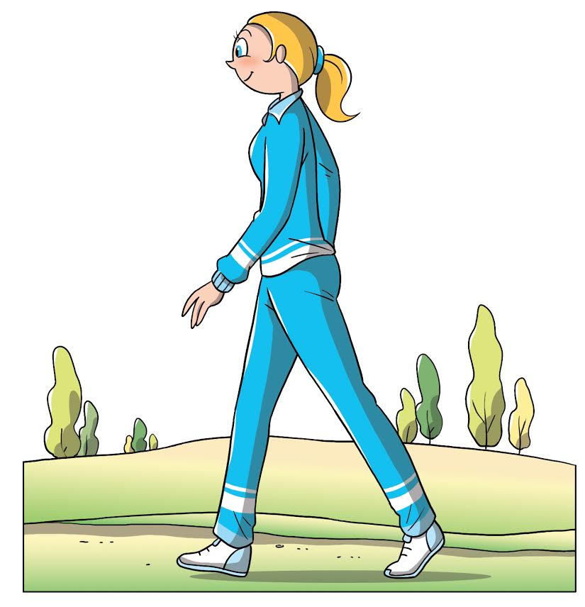circolazione sanguigna, camminare per migliorare