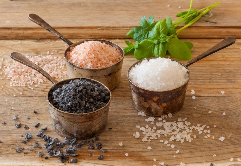I diversi tipi di sale e il loro utilizzo in cucina for Diversi tipi di case da costruire