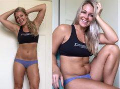 illusione corpo perfetto smentita da una blogger