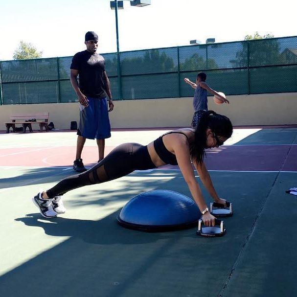 Fare sport è il segreto di Kourtney Kardashian