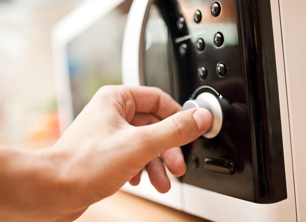igiene in cucina microonde