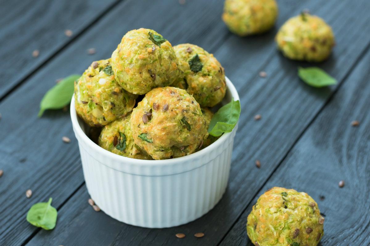 secondi piatti veloci: polpette di verdure
