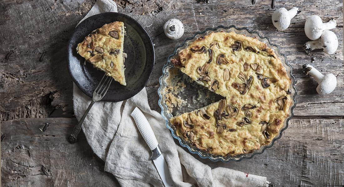 festa della mamma: ricetta gateau di patate e funghi