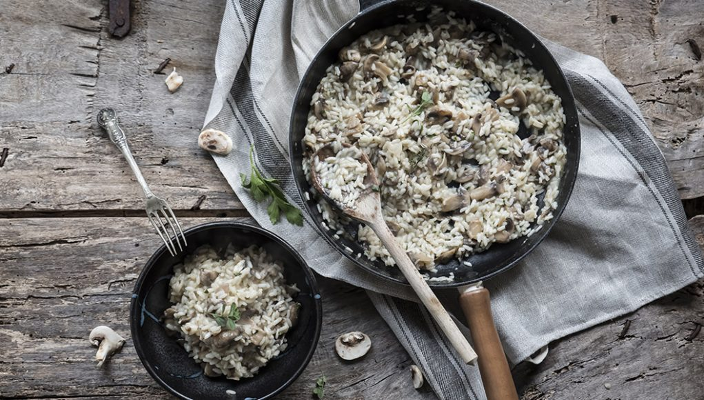 ricetta risotto ai funghi