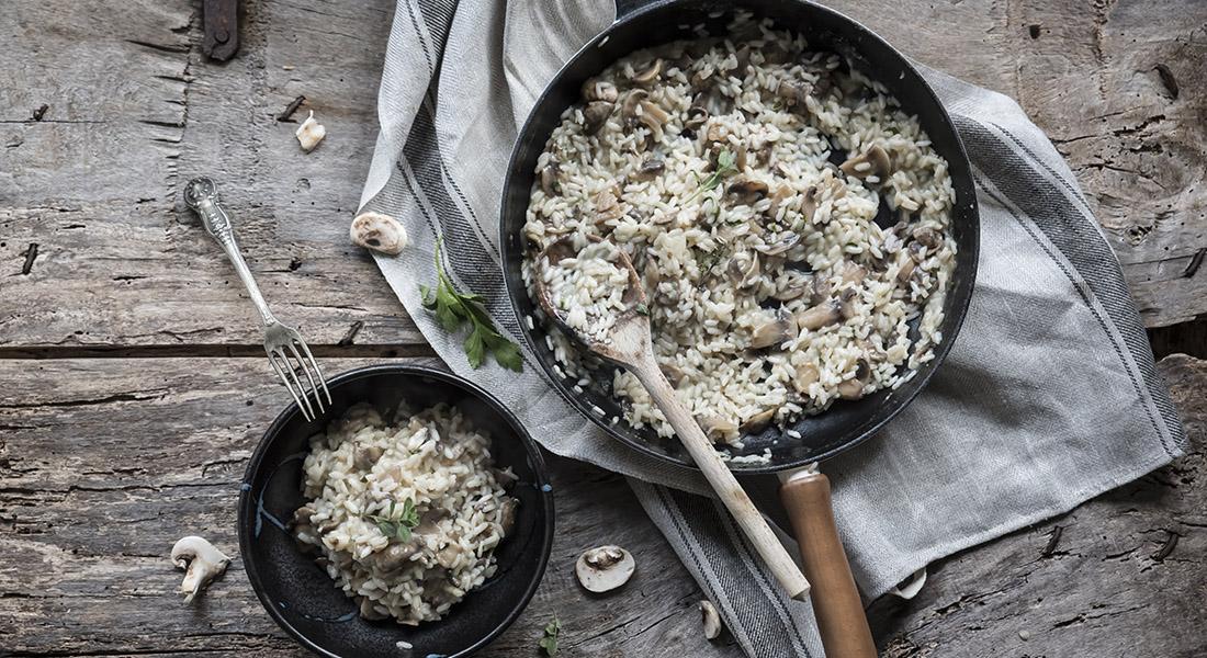 festa della mamma: ricetta risotto ai funghi