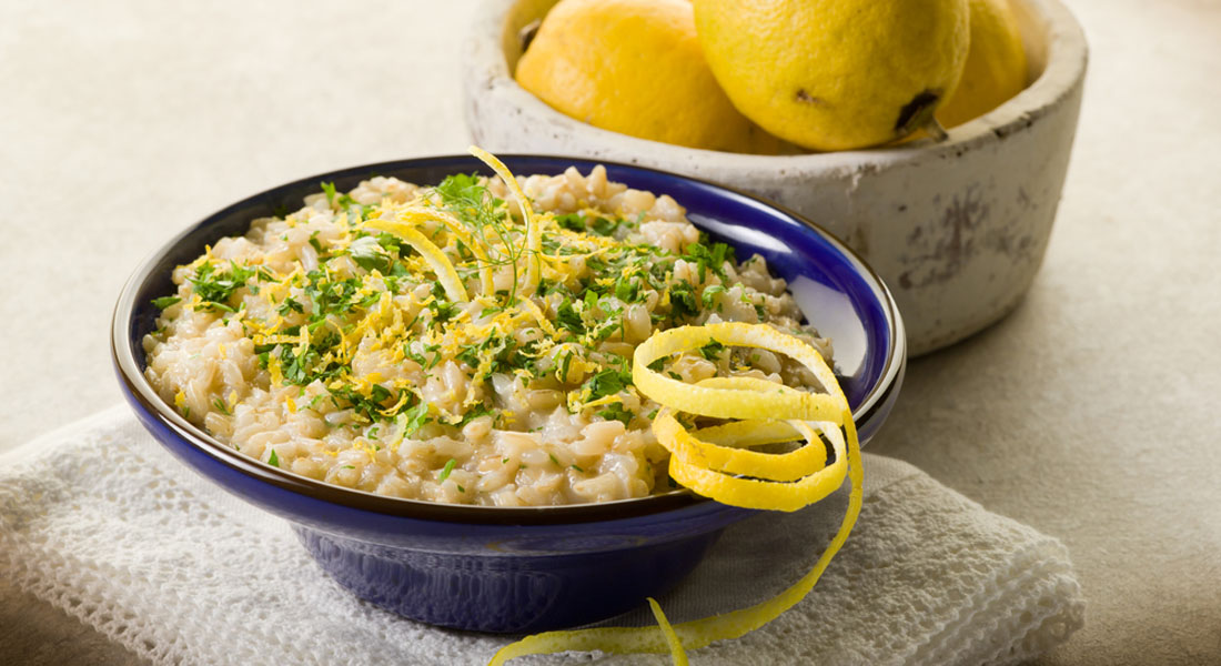 ricetta risotto al limone