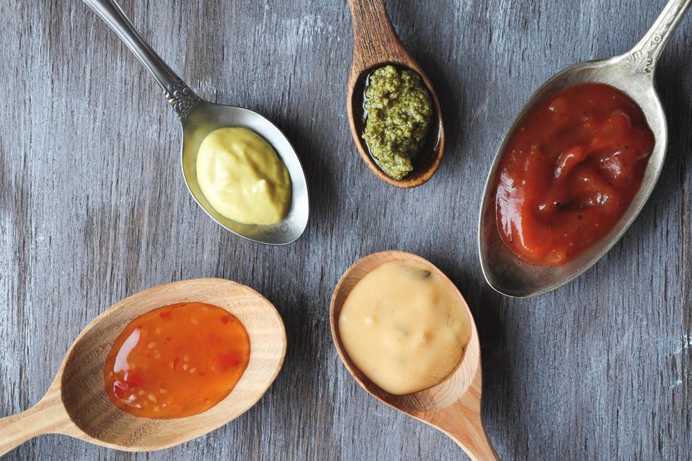 alimenti con glutine, salse e sughi pronti