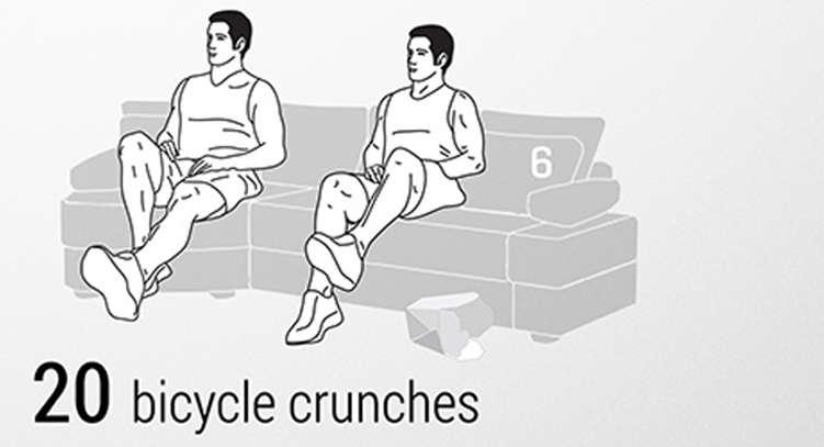 ginnastica da divano