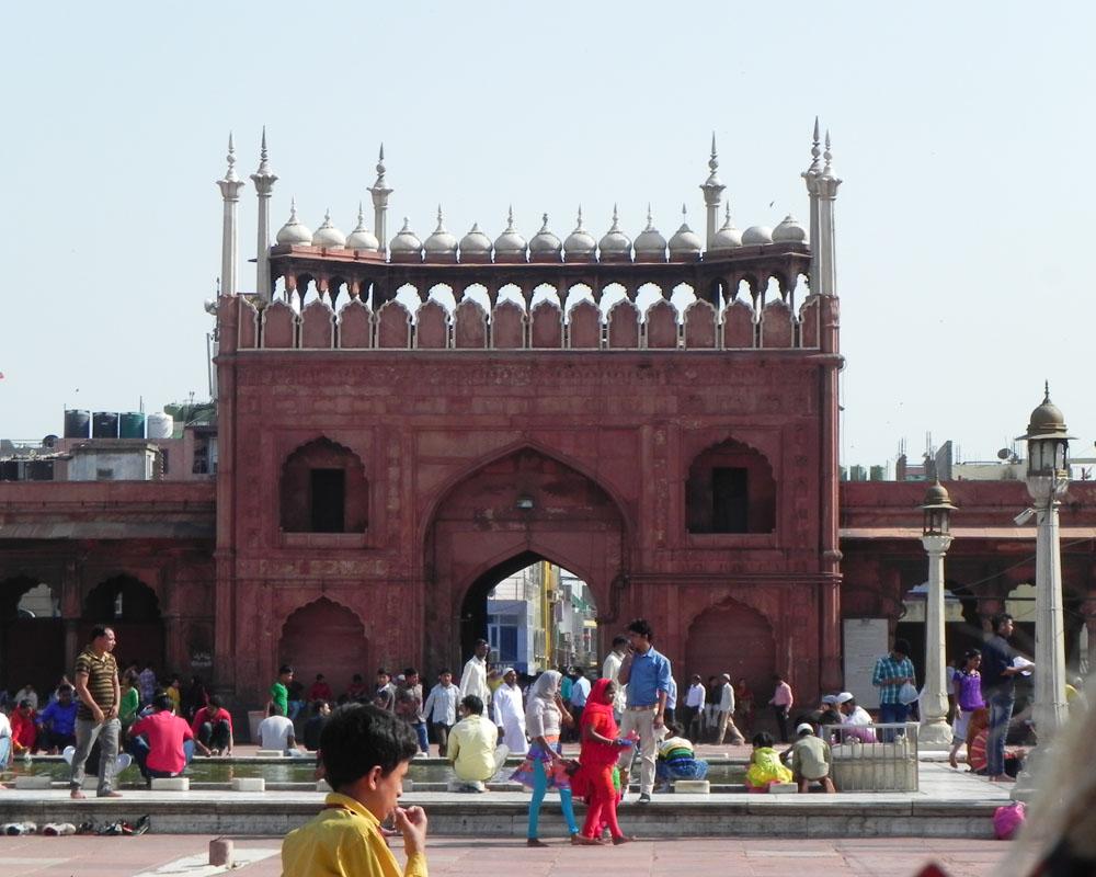 moschea Jama Masjid a Delhi