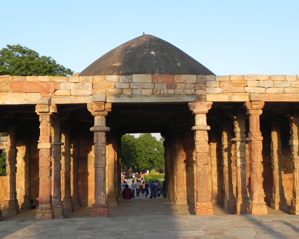 complesso del Qutb Minar a Delhi