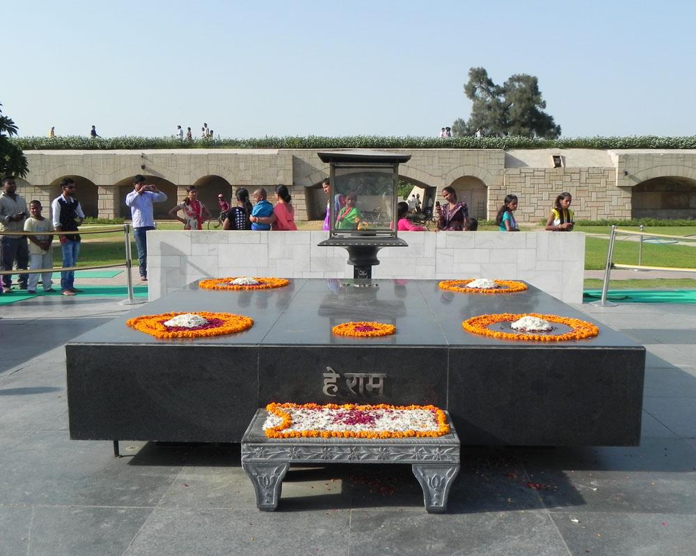 Mausoleo Gandhi a Delhi